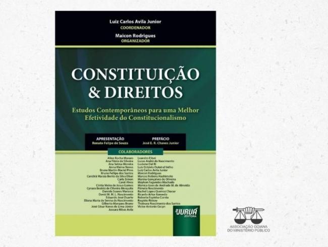 Promotor de Justiça de Goiás participa de obra jurídica coletiva que será publicada em Portugal e no Brasil