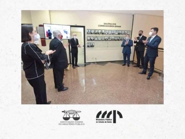 Inauguração de galeria de fotos preserva e valoriza a história da Corregedoria-Geral do MP
