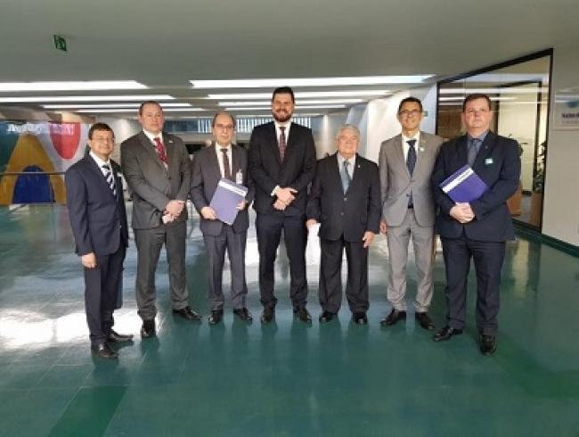 Reforma da previdência: representantes da Frentas protocolam emendas à PEC 06/19