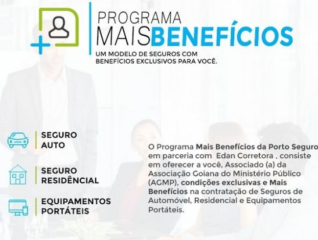 Associados da AGMP terão descontos exclusivos nas seguradoras Porto Seguro, Itaú e Azul