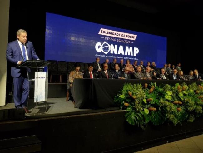 Manoel Murrieta é empossado presidente da CONAMP