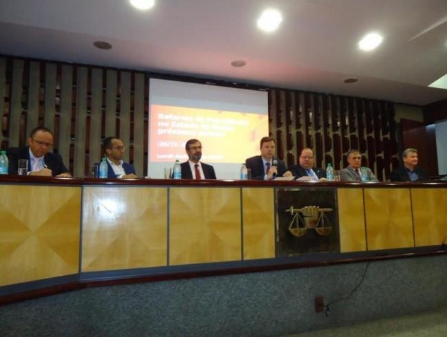 AGMP realiza seminário sobre a reforma da previdência do Estado de Goiás