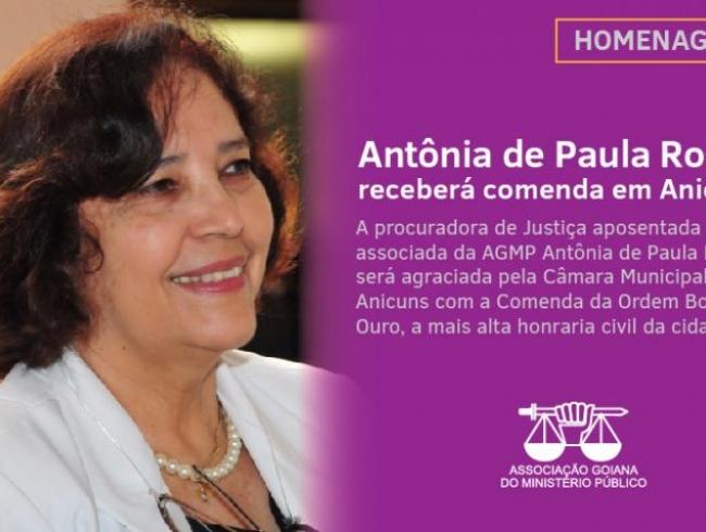 Procuradora receberá homenagem da Câmara Municipal de Anicuns