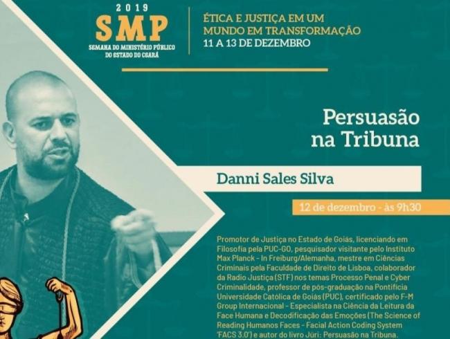 Associado fará palestra na Semana do MP do Ceará