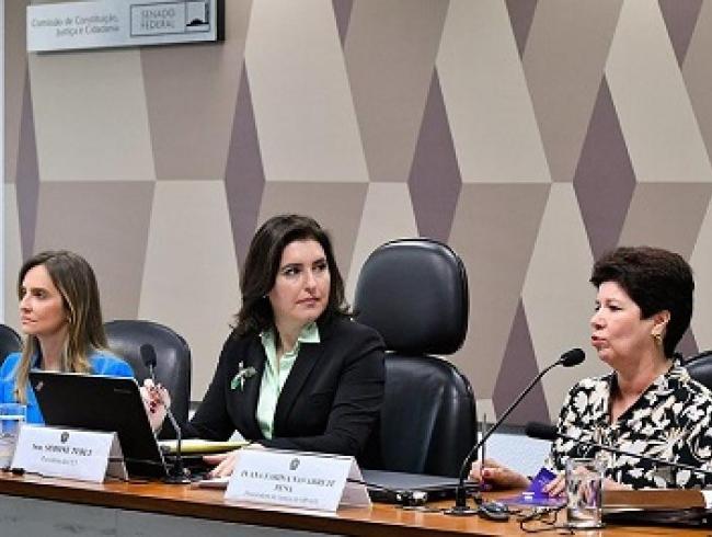CCJ do Senado aprova indicação de Ivana Farina ao Conselho Nacional de Justiça