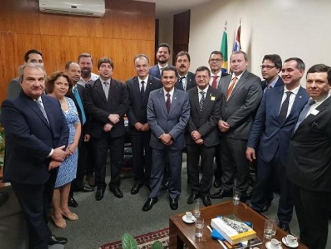 Frentas reúne-se com o relator da Reforma da Previdência e com vice-presidente da Câmara