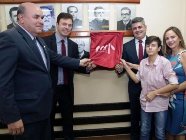Lauro Machado é homenageado com foto na galeria de ex-procuradores-gerais de Justiça de Goiás