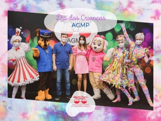 Evento estilo drive thru de Dia das Crianças garante diversão de associados da AGMP