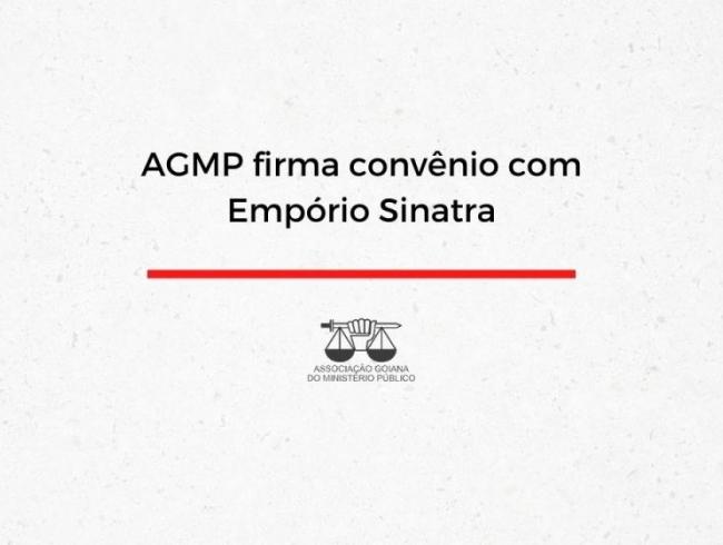 AGMP firma convênio com Empório Sinatra