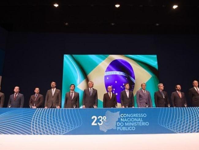 Com a presença do ministro Sérgio Moro, começa, em Goiânia, o 23 Congresso Nacional do MP