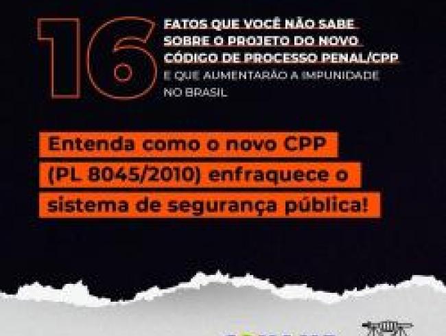Conheça a cartilha lançada pela Conamp: 16 fatos que você não sabe sobre o novo CPP