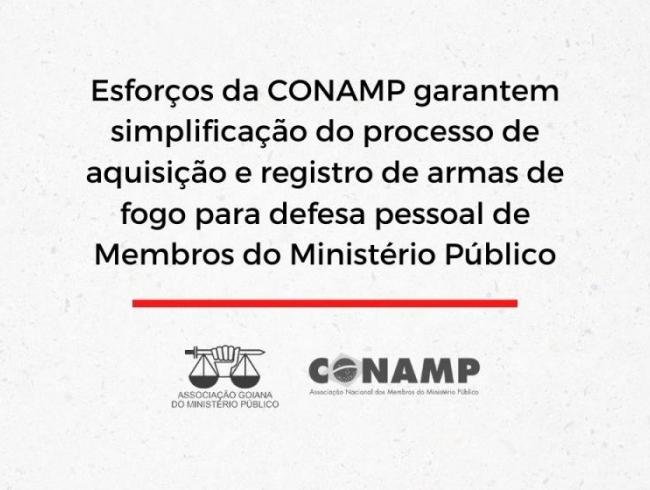 Esforços da CONAMP garantem simplificação do processo de aquisição e registro de armas de fogo para defesa pessoal de Membros do Ministério Público