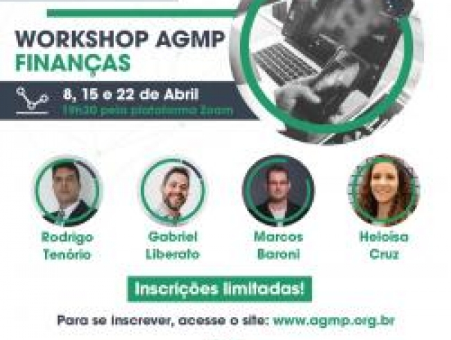 Workshop da AGMP sobre Finanças