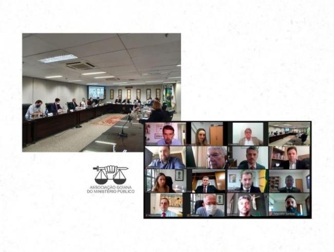 Conselho deliberativo realiza reunião em formato híbrido: presencial e online