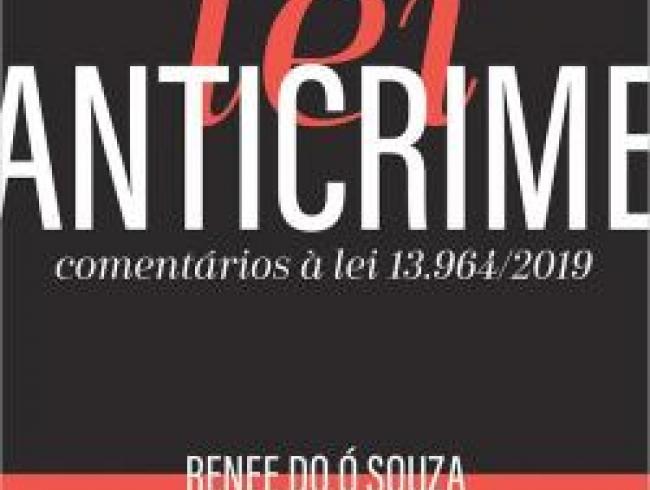 Livro sobre a Lei Anticrime traz artigo de associada