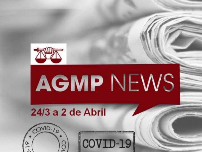 AGMP News - Veja as principais ações dos colegas do MP-GO, em relação à Covid-19, na última semana.