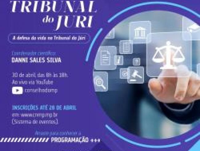 Participe da Oficina Tribunal do Juri, coordenado pelo promotor e associado AGMP, Danni Sales