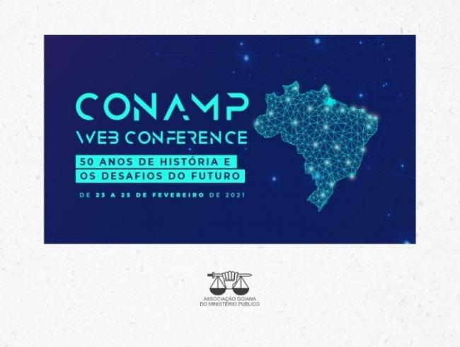 Inscrições abertas para a CONAMP Webconference: 50 anos de história e os desafios do futuro