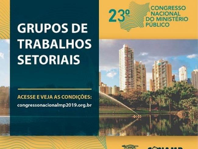 Congresso Nacional do MP terá espaço para apresentação de iniciativas exitosas e inovadoras