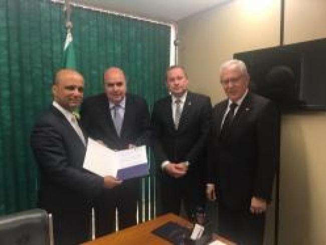Líder do governo na Câmara dos Deputados recebe CONAMP e CNPG