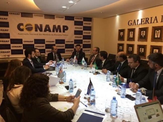Conselho Deliberativo da CONAMP realiza reunião com a presença de presidente do CNPG e coordenador da Frentas