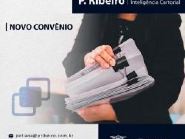 Novo convênio: P.Ribeiro - Inteligência Cartorial