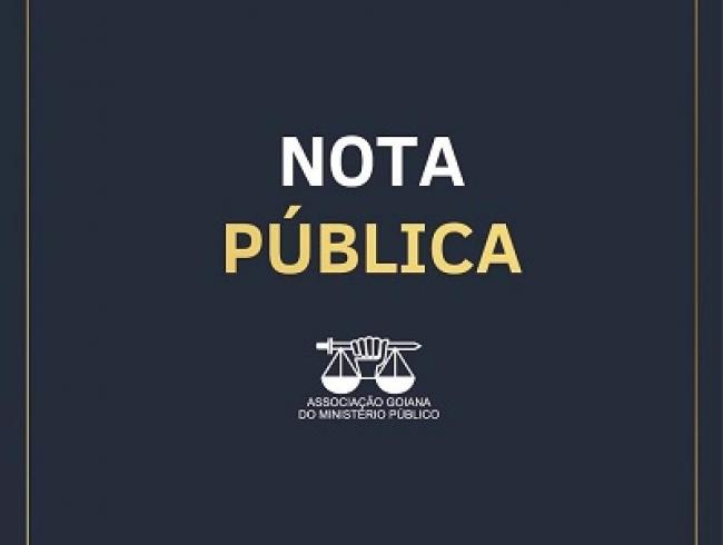 Nota Pública - AGMP - 9/9/2019