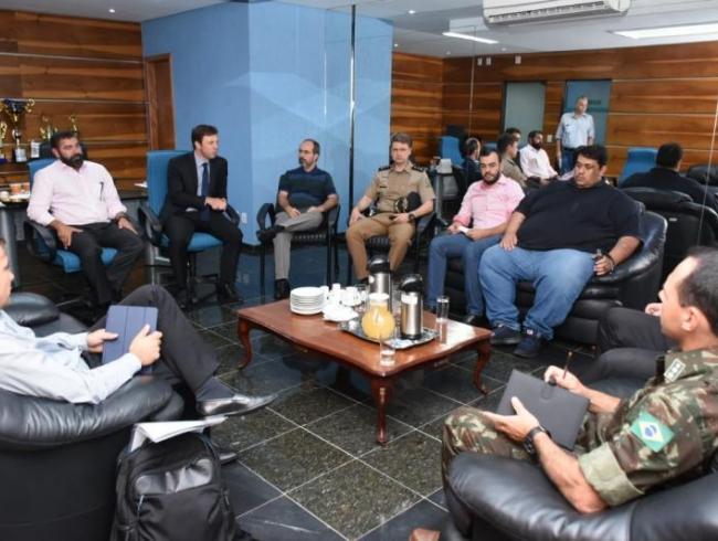 Presidentes da AGMP e Asmego reúnem-se com Comando de Operações Especiais