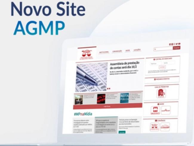 Conheça o novo site da AGMP