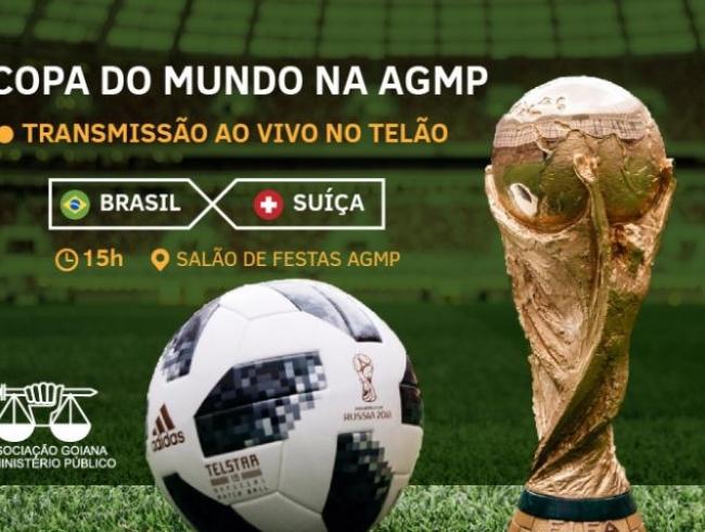 Copa do Mundo na AGMP - Brasil x Suíça