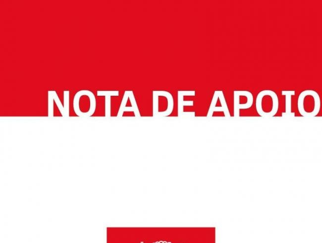 Nota de Apoio - 10/3/2020