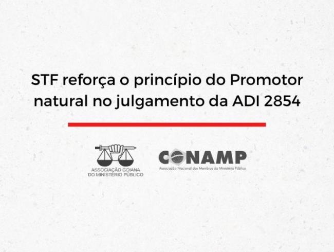 STF reforça o princípio do Promotor natural no julgamento da ADI 2854